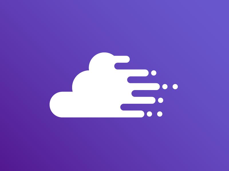 Happy cloud icon 1