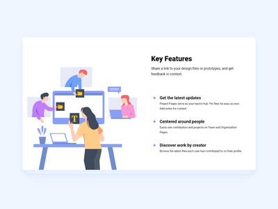 Key Features Card UI Concept ux android animation button download flat button flat design gif gradient loader interaction loading ui ui buttons upload ui design