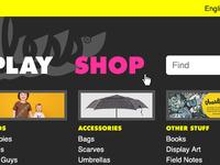Shop Nav Hover