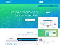 Iobeam Landing Page
