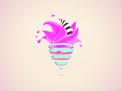 Pop-Cream | Doodling Styles #2 doodling styles 3d illustration