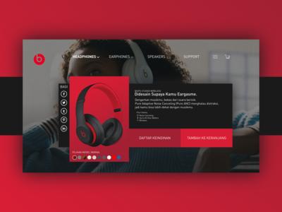 Beats Studio3 Wireless Page