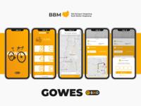 Gowes app by Biko