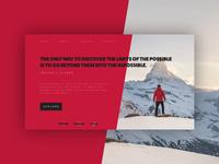 Exploration Website Concept