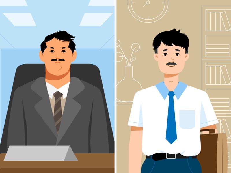 Youth & Gender - Man character design characterdesign man gender equality gender oxfam character illustrator illustration