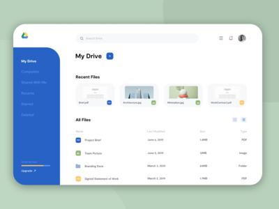 Google Drive Concept