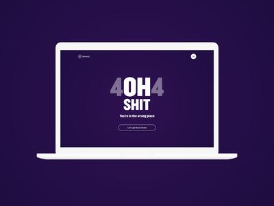 404 - Daily UI :: 008