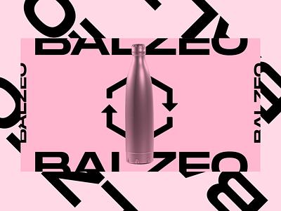 Balzeo proposition graphique artistic direction typography graphic  design logo uidesign