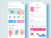 Reading App Home & Profile