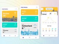 Daily Weather App UI