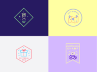 Year in Review badges