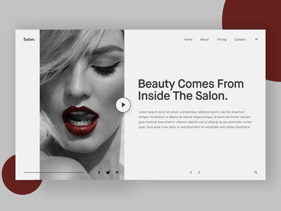 Beauty Salon Header