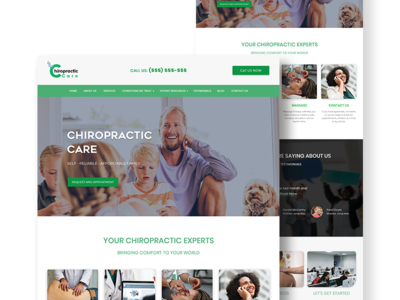 Health care web design