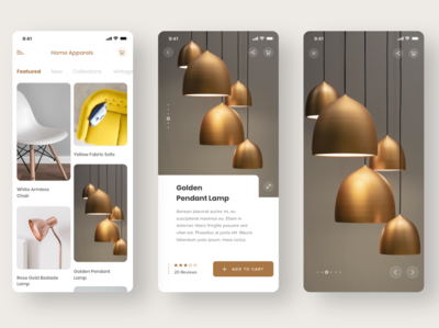 E-commerce App Concept