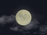 Photorealistic Moon