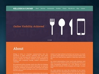 Kellogg & Caviar - Website