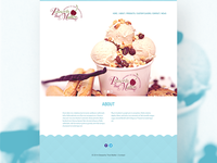 Dessert That Matter - Web Mockup