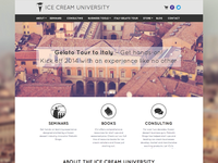 Ice Cream University - Homepage