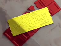Invitation - Golden Sticket