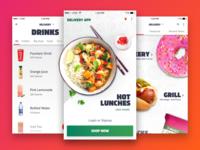 Delivery App Design Ideation