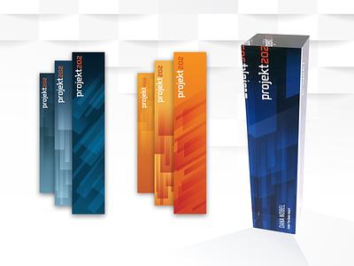 Company Award Design Process modern scultpture award branding vector design