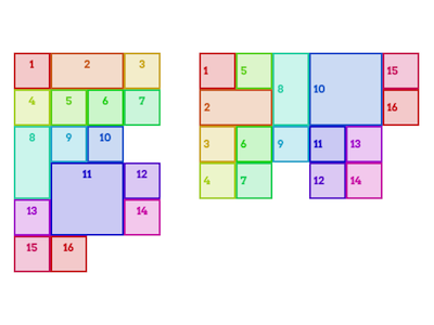 Griddles layout grid css