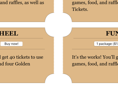 Stubs stubs ticket backgrounds css