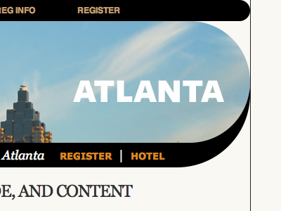 Atlanta css aea aneventapart atlanta website extreme border-radius