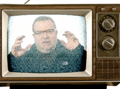 We Got It All On UHF zeldman jeffreyzeldman analog television tv static snow presentation