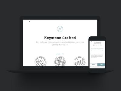 Keystone crafted