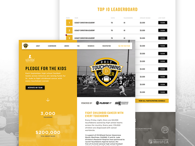 Touchdowns Against Cancer Homepage