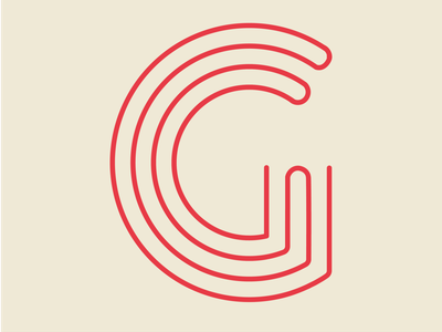 36 Days of Type - G stripe brand letter typography typeface type 36daysoftype08 36days-g 36dayoftype