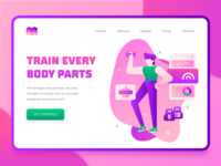 Fitness Sport Landing Page 2