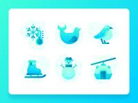 Antarctica Icons 1