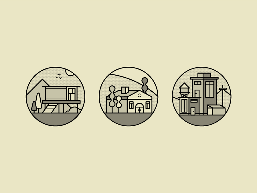 Architecture & Construction Icons #1 architecture design lineart modern home icon minimal minimal icon round icon line icon line icons apartment apartment icon home modern house house icons architecture houses