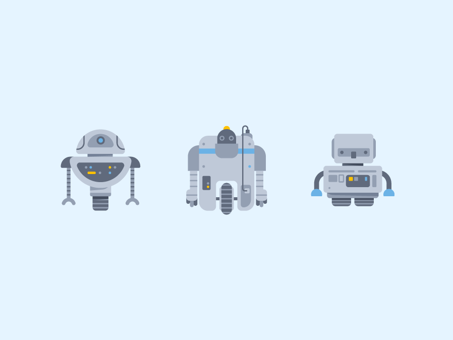 Robots & Android Icon #2 flat illustration flat flat vector logarithm android bot android robot robotics robotic icon set icon minimalism illustration icons synth androids robot bot electronic android robots