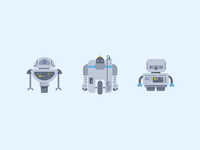 Robots & Android Icon #2