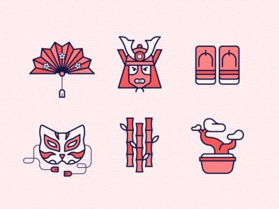 Japan Culture Icon 1