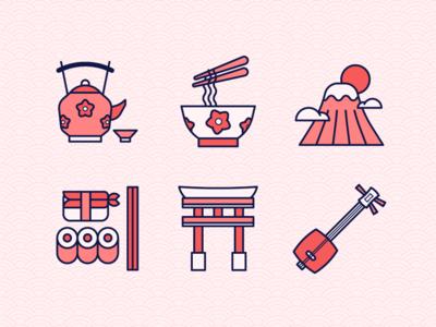 Japan Culture Icon 2