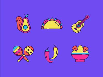 Mexico Icons 1