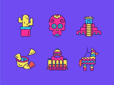 Mexico Icons 2