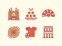 Spain Icons 1