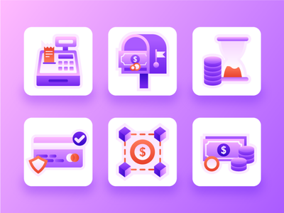 Payment Icon Set #1