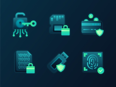Cybersecurity Icons 1