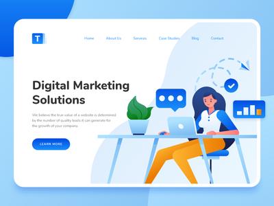Digital Marketing Landing Page 1