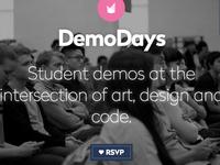 DemoDays header