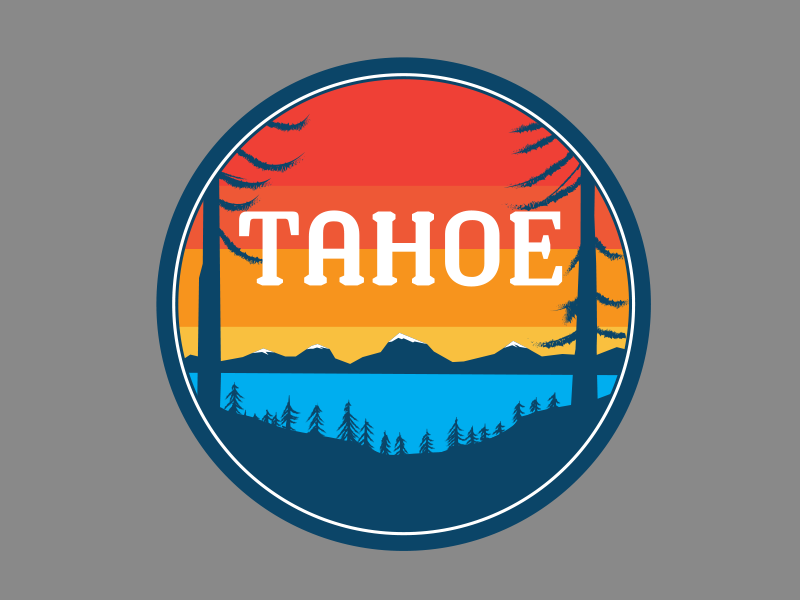 Tahoe Circle by Alex Pista on Dribbble