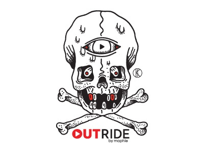 Skull-ball OC Freelance Designers Logos