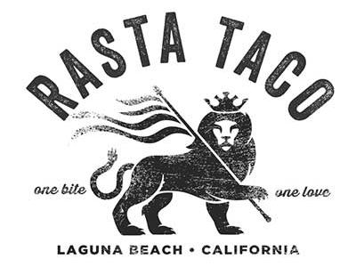 Rasta Taco Grand Opening Logo