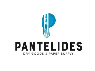 Restaurant Supplier Distributor Logo Concepts logos knife pan tools kitchen food distributor supplier restaurant